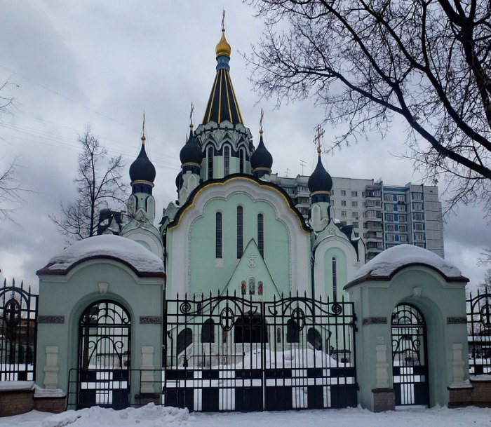 The Sokolniki Cathedral in Moscow